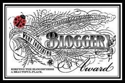 Very Inspiring Blogger Award.