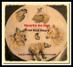 Hearts As One~ Dreamwalker's Drum Beat Award.