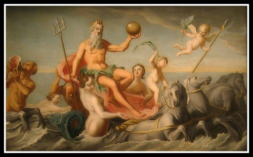 """The Return of Neptune"" by John Singleton Copley (1754)."