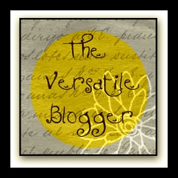 Versatile Blogger Award.