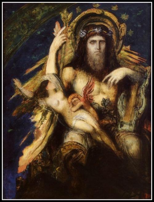 Jupiter and Semele by Gustave Moreau (1895).