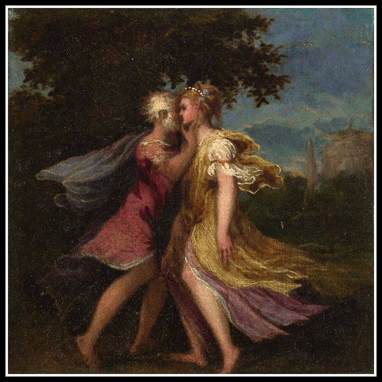 Jupiter And Callisto Myth Jupiter Seducing Callisto by