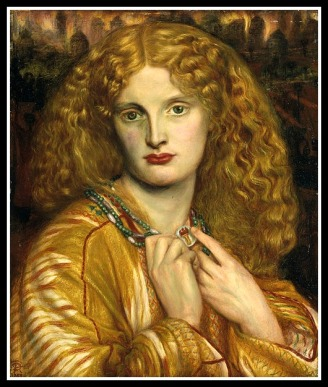 """Helen of Troy"" by Dante Rossetti (1863)."