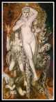 """Hélène glorifiée"" by Gustave Moreau. (1893)."
