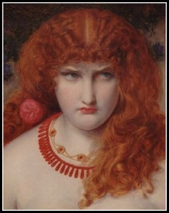 """Helen of Troy"" by Anthony Frederick Augustus Sandys (19th century)."