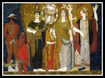 """The Crowning of Helen"" by Frantisek Kupka (1906)."