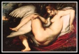 """""""Leda and the Swan"""" by Peter Paul Rubens. (1598-1600)."""