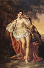 """Diana the Huntress"" by Pelagio Palagi (1830)."