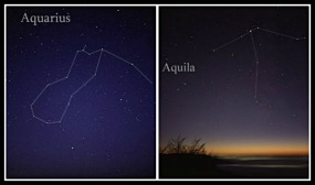 Constellations related to Ganymede: Aquarius and Aquila.