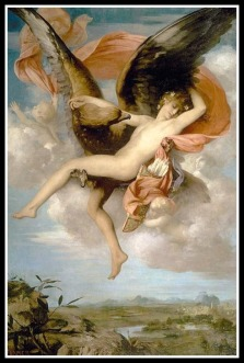 """Ganymede"" by Gabriel Ferrier. (19th century)."