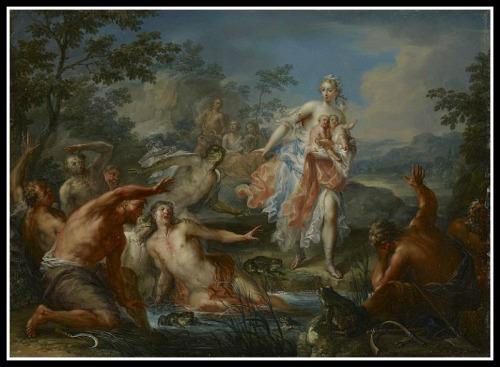 Latona Turning the Lycians Peasants into Frogs