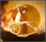 """Helios [Apollo] on His Chariot"" (Detail) by Hans Adam Weissenkircher (17th century)."