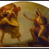 """Epimetheus Receiving Pandora"", by Henry Howard (1834). Epimetheus was Atlas´brother."