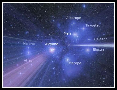 The Pleiades.