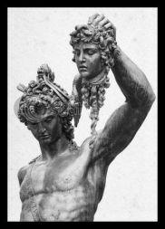 """Perseus and Medusa"" by Benvenuto Cellini, 1554. Pegasus was Medusa and Poesidon´s son."