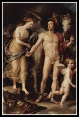 """""""Perseus and Andromeda"""" by Anton Raphael Mengs. 1776."""