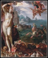 """""""Perseus and Andromeda"""" by Georges Antoine Rochegrosse. 20th century."""