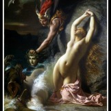 """Andromeda Chained to a Rock"" by Henry-Pierre Picou. 1874."
