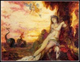 """Perseus and Andromeda"" by Gustave Moreau. 19th century."