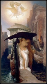 """""""Perseus and Andromeda"""" by Frederic Leighton. 1890."""