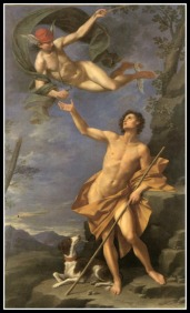 """Mercury and Paris"" by Donato. 17th century."