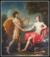 """Apollo and Mercury"" by Pierre Narcise Guèrin. 18th century."