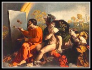 """Jupiter, Mercury & Virtue"" by Dosso Dossi. 1524."