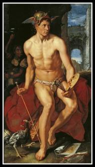 """Mercury"" by Hendrick Goltzius. 1611."