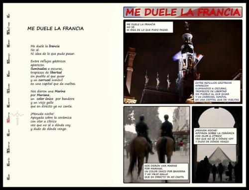 Me Duele la Francia, screenshot. DesenRedo