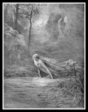 River Lethe. Engraving.