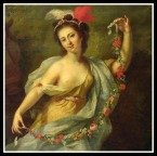 """Terpsichore"" (Muse of dance) by Johann Heinrich The Elder Tischbein. 1782."