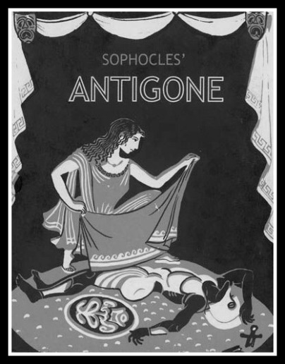 an analysis of the corruption in antigone a play by sophocles Sophocles antigone the harvard classics him i decree that none should dare entomb, that none should utter wail or loud lament, but leave his corpse unburied, by.