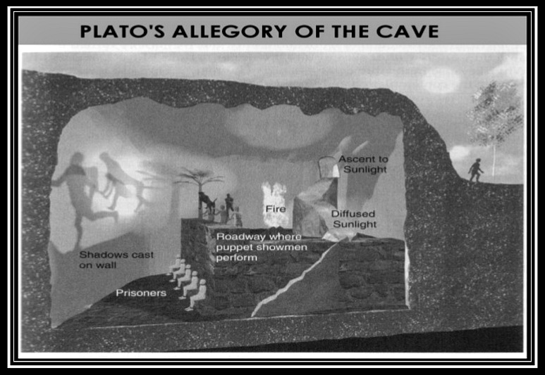 an analysis of the topic of the quest for enlightenment and the platos the allegory of the cave Analysis of plato's allegory of the cave essay - analysis of plato's allegory of the cave an analysis of the allegory of the cave by enlightenment —only.