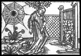 "Image from Giovanni Boccaccio's ""De mulieribus claris"". 1474."