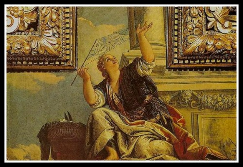 """Arachne or Dialectics"" by Paolo Veronese. 1520."