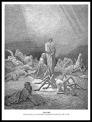 """Arachne"" by Gustave Doré. Illustration for Dante´s ""The Divine Comedy"". 1861."