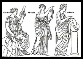 The Three Greek Moirae.