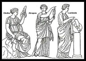 The Three Greek Moirae.