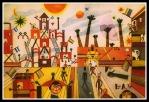 """""""B.A."""" by Borges´friend  Xul Solar (1929)."""