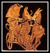 The Chariot of Artemis. Attic Red Figure. 460 - 440 B.C.