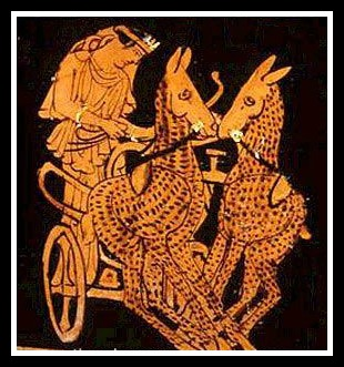 Image result for artemis chariot