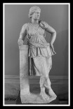 Statue of Artemis, from Mytilene. Roman copy of a 4th century BC type.