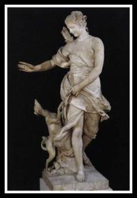 """""""A Companion of Diana"""" by Frémin, René 1717. Musée du Louvre, Paris."""