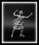 Bronze Statuette of Artemis, Roman 2nd-3rd century A.D.