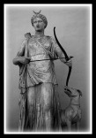 Artemis and her hound (Diana), Vatican Museums.