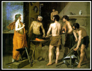 """Hephaestus/Vulcan"" by Diego Rodriguez de Silva Velázquez. 1660."