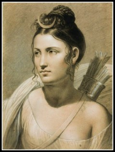 """Diana"" (AKA Artemis/Selene) by Joseph Duch (19th Century)."