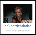 cake or death blog