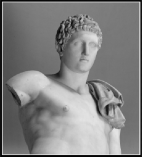 Herems statue. Classical Period.