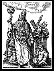 "Hermes Trismegistus: Illustration from ""Viridarium chymicum"", by D. Stolcius von Stolcenbeerg. 1624."